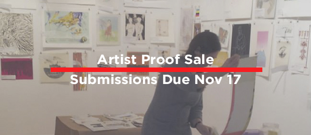 Artist Proof Sale Submissions Due November 17