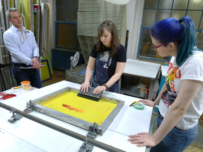 Screenprint Instruction